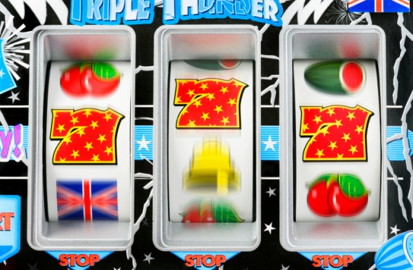 Winning slot machines placed near highly trafficked areas