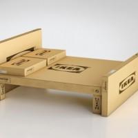 alt IKEA flat-pack bed