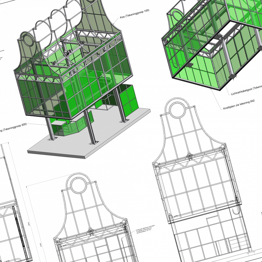 Construction of a Green House